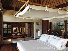 サムイ島 チョンモーンビーチのホテル : シックス センシズ サムイ(1)のお部屋「プール ヴィラ」