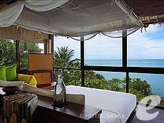 サムイ島 チョンモーンビーチのホテル : シックス センシズ サムイ(1)のお部屋「オーシャン フロント プール ヴィラ」