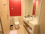 プーケット パトンビーチのホテル : スリープ ウィズ ミー ホテル(Sleep with Me Hotel Design Hotel at Patong)のスーペリアルームの設備 Bath Room