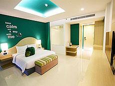 プーケット パトンビーチのホテル : スリープ ウィズ ミー ホテル(1)のお部屋「デラックス ジャグジー」