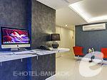 バンコク スクンビットのホテル : ソロ エクスプレス バンコク 「Internet Corner」