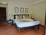 サムイ島 チョンモーンビーチのホテル : ソムオー ヴィラ(Som O Villa)の2ベッドルームルームの設備 Bedroom