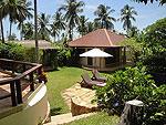 サムイ島 チョンモーンビーチのホテル : ソムオー ヴィラ(Som O Villa)の3ベッドルームルームの設備 Garden