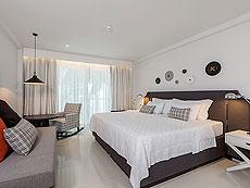 プーケット 5,000円以下のホテル : シュガー マリーナ リゾート ファッション カタ ビーチ(1)のお部屋「デラックス プール ビュー」
