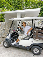Cart : Sugar Palm Grand Hillside, Kata Beach, Phuket