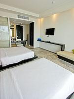 プーケット カタビーチのホテル : シュガーパーム グランド ヒルサイド(Sugar Palm Grand Hillside)のグランド デラックスルームの設備 Bedroom