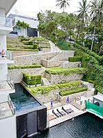 プーケット ファミリー&グループのホテル : シュガーパーム グランド ヒルサイド(Sugar Palm Grand Hillside)のグランド ジャグジー デラックスルームの設備 View