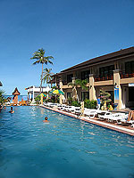 Swimming Pool : Sunrise Resort, Koh Phangan, Phuket