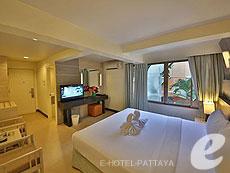パタヤ ジョイナーフィー無料(JF無料)のホテル : サンシャイン ホテル & レジデンス(1)のお部屋「スタンダード サンシャイン ホテル」