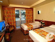 パタヤ ジョイナーフィー無料(JF無料)のホテル : サンシャイン ホテル & レジデンス(1)のお部屋「スタンダード レジデンス ウイング」