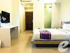 パタヤ ジョイナーフィー無料(JF無料)のホテル : サンシャイン ホテル & レジデンス(1)のお部屋「スタンダード サンシャイン タワー ニューウイィング」