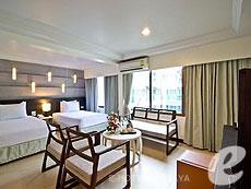 パタヤ ジョイナーフィー無料(JF無料)のホテル : サンシャイン ホテル & レジデンス(1)のお部屋「スーペリア サンシャイン ホテル」