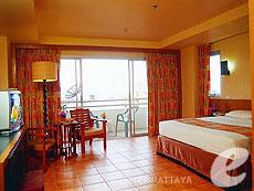 パタヤ ジョイナーフィー無料(JF無料)のホテル : サンシャイン ホテル & レジデンス(1)のお部屋「スーペリア レジデンス ウィング」