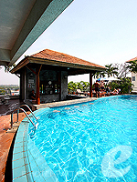 Poolside Bar : Sunshine Vista Serviced Apartment, Long Stay, Phuket