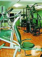 Fitness Gym : Sunshine Vista Serviced Apartment, Long Stay, Phuket