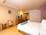 プーケット 5,000円以下のホテル : スワン パーム リゾート(Suwan Palm Resort)のスーペリア ルームルームの設備 Bedroom