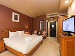 プーケット 5,000円以下のホテル : スワン パーム リゾート(Suwan Palm Resort)のデラックス ルームルームの設備 Bedroom