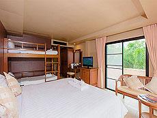 プーケット 5,000円以下のホテル : スワン パーム リゾート(1)のお部屋「ファミリー ルーム」