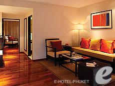 プーケット その他・離島のホテル : スイソテル リゾート プーケット オール スイーツ(1)のお部屋「ワンベッドルーム デラックススイート」