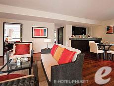 プーケット その他・離島のホテル : スイソテル リゾート プーケット オール スイーツ(1)のお部屋「3 ベッドルーム デラックススイート」
