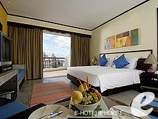 プーケット ファミリー&グループのホテル : ノボテル プーケット カロン ビーチ リゾート & スパ(1)のお部屋「デラックス」
