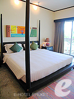 プーケット ファミリー&グループのホテル : ノボテル プーケット カロン ビーチ リゾート & スパ(Novotel Phuket Karon Beach Resort & Spa)のジュニア スイートルームの設備 Bedroom