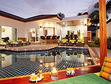プーケット ファミリー&グループのホテル : タマリンド ヴィラ プーケット(1)のお部屋「3ベッドルーム」