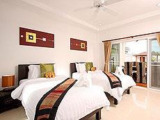 プーケット ファミリー&グループのホテル : タマリンド ヴィラ プーケット(1)のお部屋「4ベッドルーム」