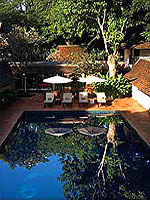 Swimming Pool / Tamarind Village Chiang Mai, มีสปา