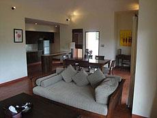 サムイ島 チョンモーンビーチのホテル : テンモー ヴィラ(1)のお部屋「2ベッドルーム」