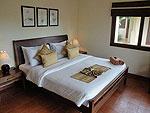 サムイ島 チョンモーンビーチのホテル : テンモー ヴィラ(Tangmo Villa)の3ベッドルームルームの設備 Bedroom