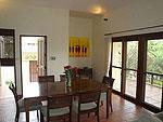 サムイ島 チョンモーンビーチのホテル : テンモー ヴィラ(Tangmo Villa)の3ベッドルームルームの設備 Dining Area