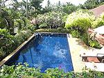 サムイ島 チョンモーンビーチのホテル : テンモー ヴィラ(Tangmo Villa)の3ベッドルームルームの設備 Private Pool