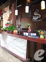 サムイ島 コネクティングルームのホテル : タンゴ ビーチ リゾート 「Reception」