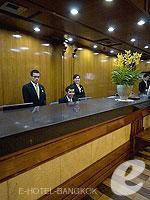 バンコク シーロム・サトーン周辺のホテル : タワナ バンコク 「Reception」