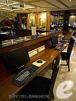 バンコク コネクティングルームのホテル : タワナ バンコク 「Internet Corner」