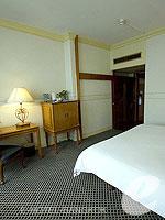 バンコク カップル&ハネムーンのホテル : タワナ バンコク(Tawana Bangkok)のスーペリア ダブル/ツインルームの設備 Bedroom