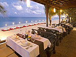 Beachside Restaurant : Thai House Beach Resort, Beach Front, Phuket