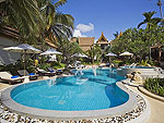 Swimming Pool : Thai House Beach Resort, Beach Front, Phuket