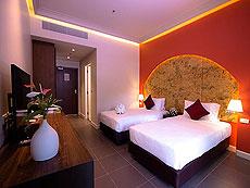 プーケット その他・離島のホテル : タンヤプラ スポーツ ホテル プーケット(1)のお部屋「スタンダード シングル」
