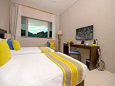 プーケット その他・離島のホテル : タンヤプラ スポーツ ホテル プーケット(1)のお部屋「デラックス ダブル」