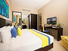 プーケット その他・離島のホテル : タンヤプラ スポーツ ホテル プーケット(1)のお部屋「スイート ダブル」