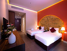 プーケット その他・離島のホテル : タンヤプラ スポーツ ホテル プーケット(1)のお部屋「スタンダード ダブル」