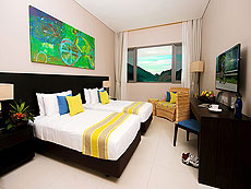 プーケット その他・離島のホテル : タンヤプラ スポーツ ホテル プーケット(1)のお部屋「スーペリア ダブル」