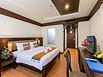 プーケット 5,000~10,000円のホテル : タラ パトン ビーチ リゾート&スパ(Thara Patong Beach Resort & Spa)のスーペリアルームの設備 Bedroom