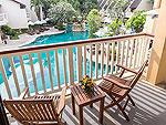プーケット 5,000~10,000円のホテル : タラ パトン ビーチ リゾート&スパ(Thara Patong Beach Resort & Spa)のプレミアルームの設備 Balcony