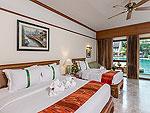 プーケット 5,000~10,000円のホテル : タラ パトン ビーチ リゾート&スパ(Thara Patong Beach Resort & Spa)のプレミア プール アクセスルームの設備 Bedroom