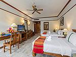 プーケット 5,000~10,000円のホテル : タラ パトン ビーチ リゾート&スパ(Thara Patong Beach Resort & Spa)のグランド タマリンド スイート プールアクセスルームの設備 Bedroom