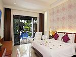 プーケット プールアクセスのホテル : アクセス リゾート & ヴィラ(Access Resort & Villas)のプールアクセス デラックス シングル(グリーンウィング)ルームの設備 Bedroom