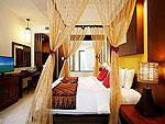 プーケット プールアクセスのホテル : アクセス リゾート & ヴィラ(Access Resort & Villas)のプールアクセス デラックス シングル(ブルーウィング)ルームの設備 Bed Room